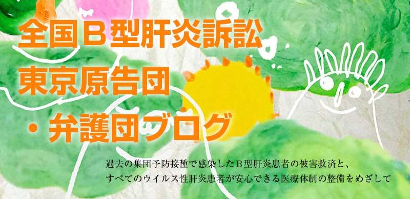 全国B型肝炎訴訟東京弁護団・原告団ブログ